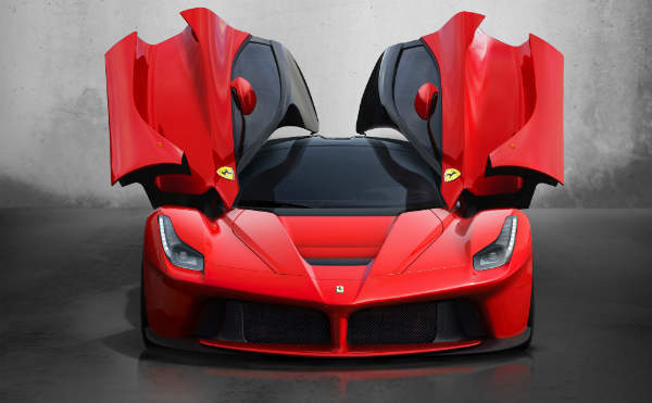 LaFerrari front view open