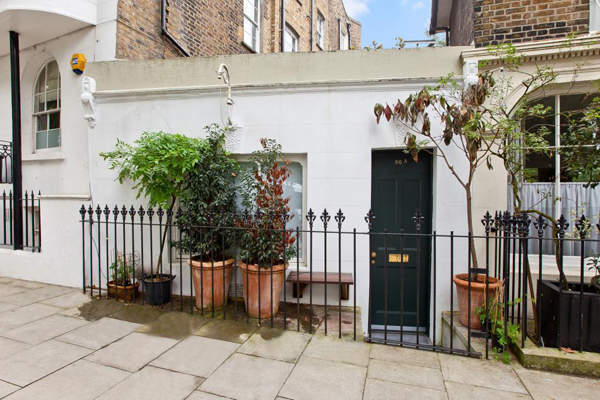 Barnsbury terraced house