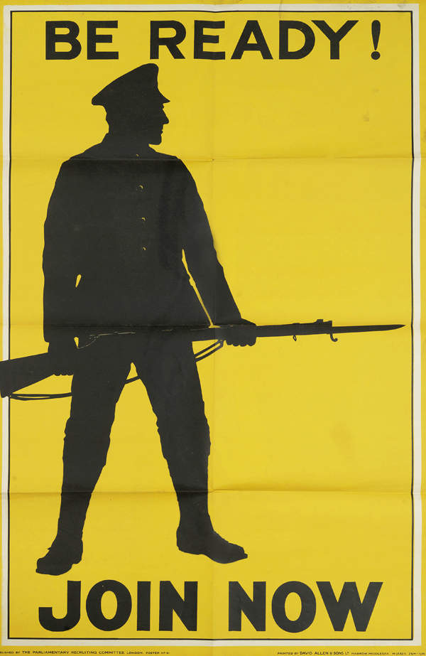 WW1 recruitment poster