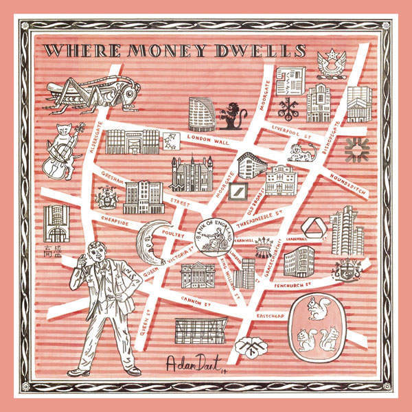 Adam Dant's pocket squares for Drake's
