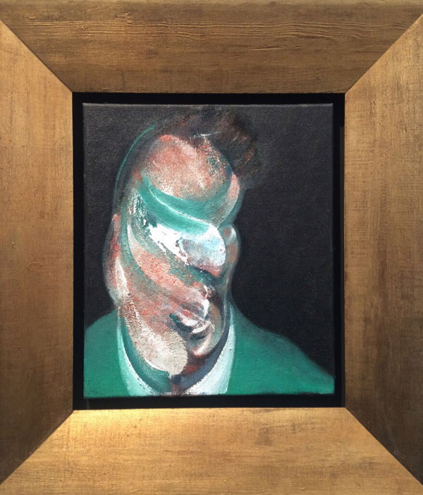 Frieze Masters Francis Bacon Lucian Freud head study